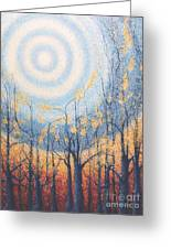 He Lights The Way In The Darkness Greeting Card