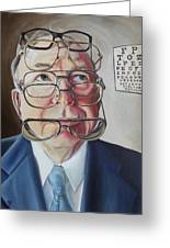 He Lost His Focus After Retirement Greeting Card