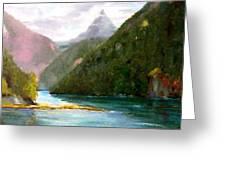 Head Bay - Vancouver Island Greeting Card