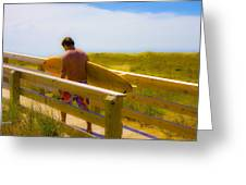 Heading Out Greeting Card