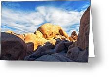 Heading To Arch Rock Greeting Card