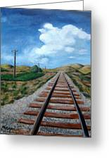 Heading West Greeting Card