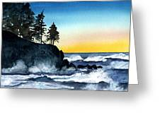 Headland Greeting Card