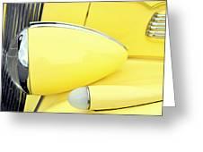Headlights And Parkinglights Greeting Card