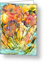 Healing Blossoms For Heather Ward Greeting Card