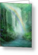 Healing Grotto Greeting Card