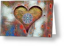 Healing The Heart Greeting Card