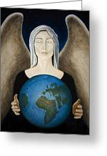 Healing The Planet Greeting Card