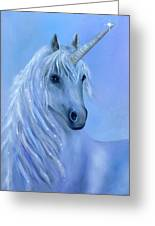 Healing Unicorn Greeting Card