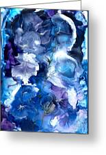 Healing With Blues Greeting Card