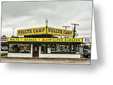 Health Camp Greeting Card