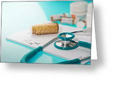 Health Insurance Plans Greeting Card