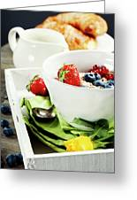 Healthy Breakfast Greeting Card