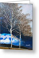 Healthy Trees Greeting Card