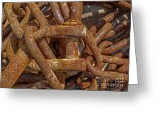 Heaped Chains 03 Greeting Card