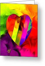 Heart Bright Greeting Card