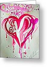 Heart Energy Greeting Card