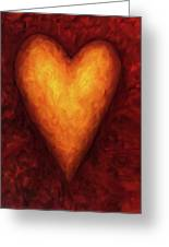 Heart Of Gold 3 Greeting Card