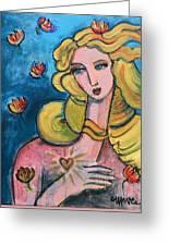 Heart Of Venus Greeting Card