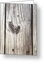 Heart Of Wood Greeting Card