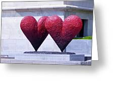 Heart To Heart Greeting Card