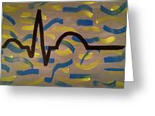 Heartbeat Greeting Card