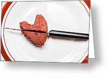 Heartbreak Cake Greeting Card