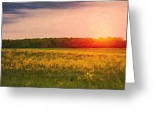 Heartland Glow Greeting Card