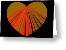 Heartline 5 Greeting Card