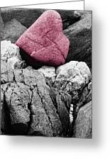 Heartrock Greeting Card