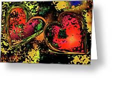 Hearts Adrift Greeting Card