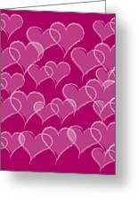 Hearts Greeting Card