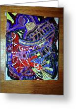 Hearts Drum 2 Greeting Card