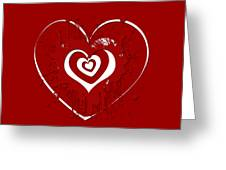 Hearts Graphic 1 Greeting Card