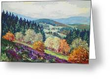 Heather Meadow Greeting Card
