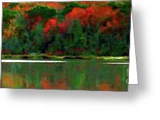 Heavy Tones Seasons Fall  Greeting Card