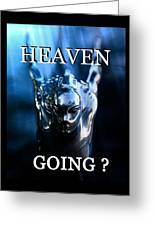Heaven T Poster #1 Greeting Card