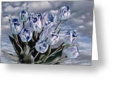 Heavenly Blue Greeting Card