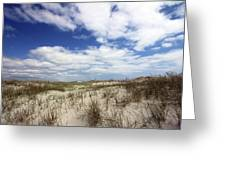 Heavenly Dune Greeting Card