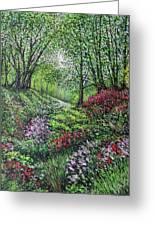 Heavenly Garden Greeting Card