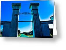 Heavenly Gates Greeting Card