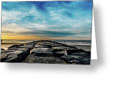Heavenly Jetty Greeting Card