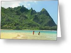 Heavenly Kauai Lagoon Greeting Card