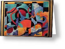 Heavens Doorway Greeting Card by Bernard Goodman