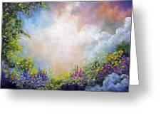 Heaven's Garden Greeting Card