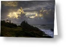 Heaven's Glory Greeting Card