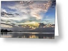 Heaven's Light - Coyaba, Ironshore Greeting Card