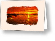 Heavens Of Fire 2 Greeting Card