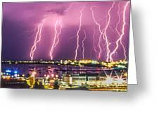 Heavens Power Greeting Card