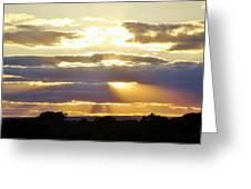 Heaven's Rays Greeting Card